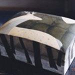 2000鹿紋陶板